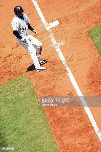 Yoshinobu Takahashi of Japan in the baseball preliminary game against Canada on August 20 2004 during the Athens 2004 Summer Olympic Games at the...
