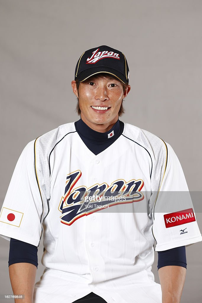 Yoshio Itoi of Team Japan poses for a headshot at the Rihga Royal Hotel on February 25 2013 in Osaka Japan