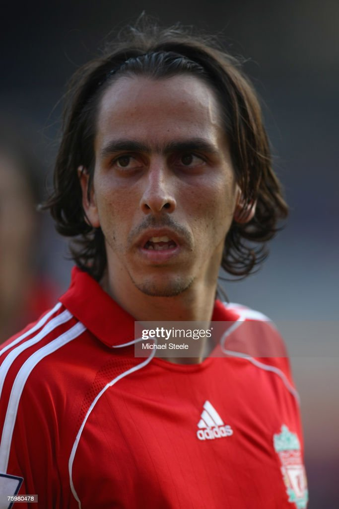 Yossi Benayoun of Liverpool during the Port of Rotterdam Tournament match between Liverpool and Shanghai Shenhua FC at the De Kuip Stadium on August...