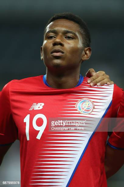 Yostin Salinas of Costa Rica during his teams national anthem during the FIFA U20 World Cup Korea Republic 2017 group C match between Costa Rica and...