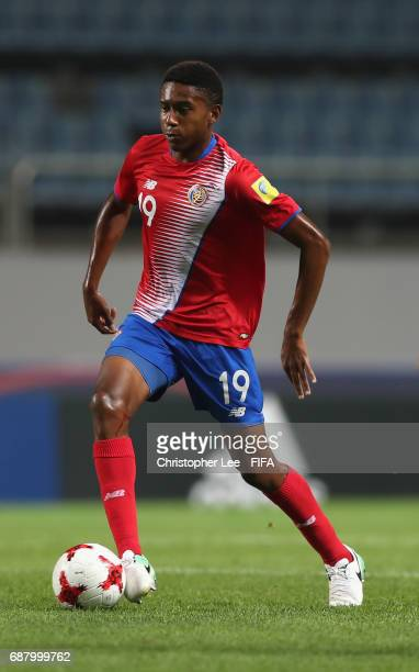 Yostin Salinas of Costa Rica in action during the FIFA U20 World Cup Korea Republic 2017 group C match between Costa Rica and Portugal at Jeju World...