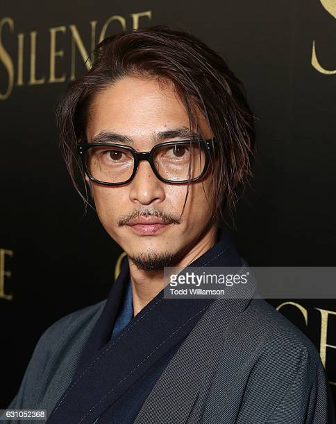 Yosuke Kubozuka attends the premiere of Paramount Pictures' 'Silence' at the Directors Guild Of America on January 5 2017 in Los Angeles California