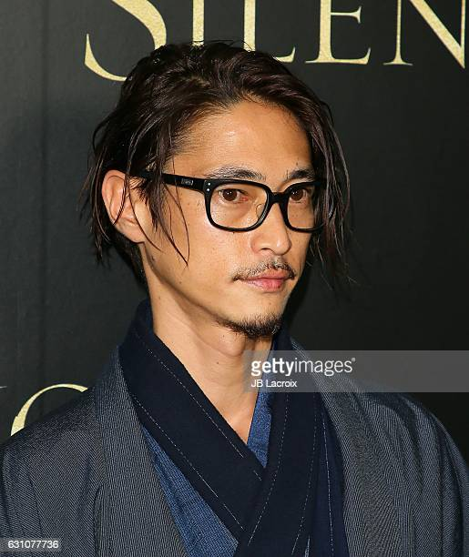 Yosuke Kubozuka attends the premiere of Paramount Pictures' 'Silence' on January 5 2017 in Los Angeles California