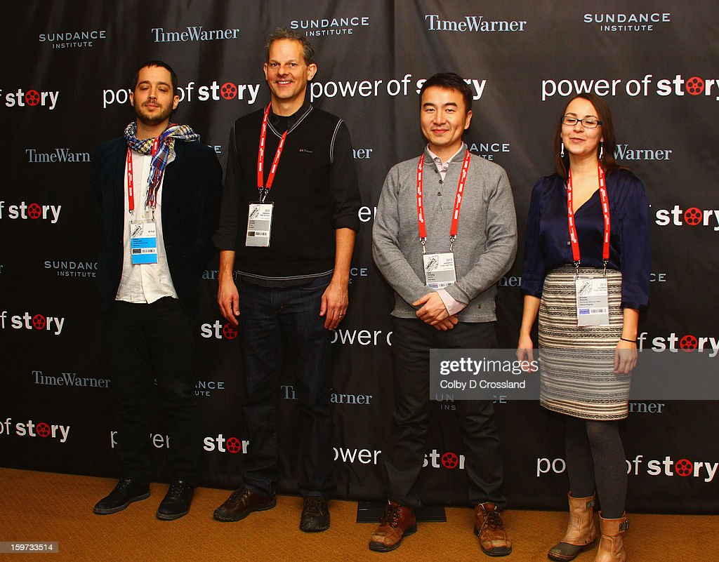 Yotam Silberstein, Johnny Symons, Leo Chiang and Brooke Swaney attend the Power Of Story: Independence Unleashed Panel at Egyptian Theatre during the 2013 Sundance Film Festival on January 19, 2013 in Park City, Utah.