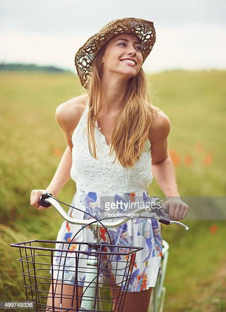 You can't be sad while riding a bicycle