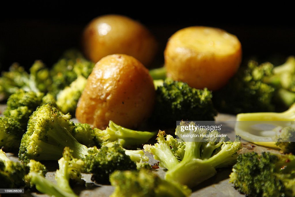 You don't have to have an old family cookbook to find recipes that bring back memories. Here, oven roasted broccoli and potatoes.