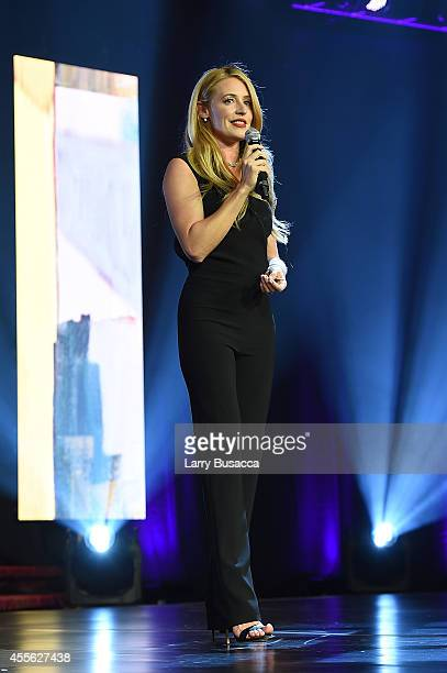 'You Think You Can Dance' host Cat Deeley appears at the 31st Annual Walter Kaitz Foundation Fundraising Dinner on September 17 2014 in New York City