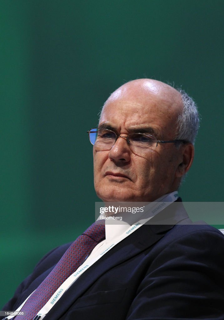 Youcef Yousfi Algeria's minister of energy and mines attends the 22nd World Energy Congress in Daegu South Korea on Tuesday Oct 15 2013 Algeria plans...