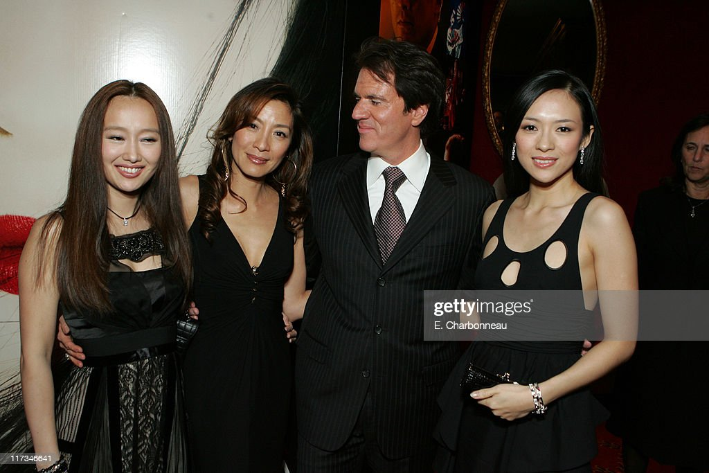 Youki Kudoh Michelle Yeoh Rob Marshall Director and Ziyi Zhang