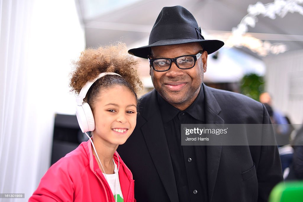 DJ Young 1 and Jimmy Jam attend the GRAMMY Gift Lounge during the 55th Annual GRAMMY Awards at STAPLES Center on February 9, 2013 in Los Angeles, California.