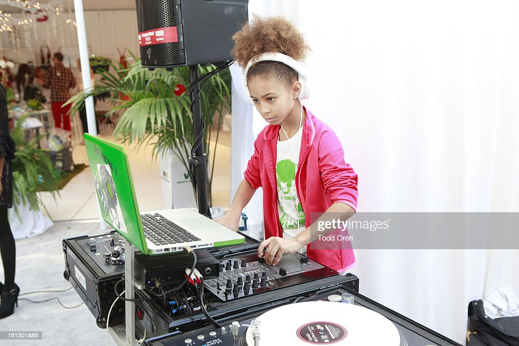 DJ Young 1 attends the GRAMMY Gift Lounge during the 55th Annual GRAMMY Awards at STAPLES Center on February 9, 2013 in Los Angeles, California.
