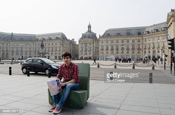 Young adult in Bordeaux