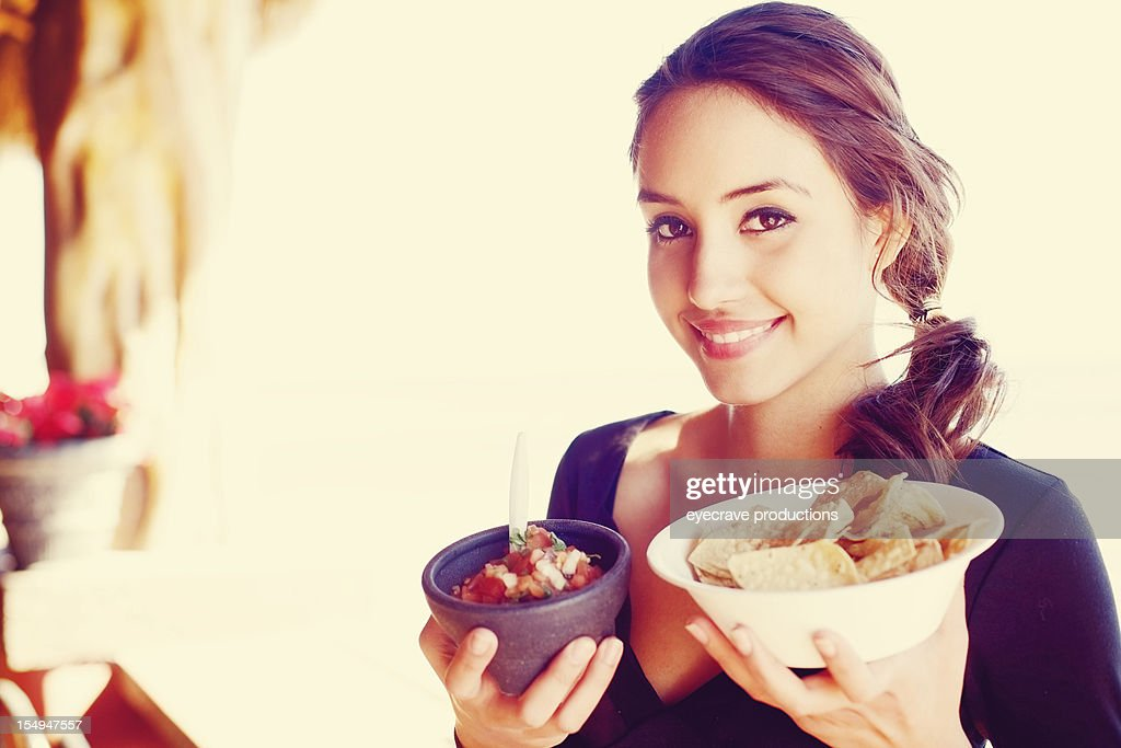 young adult Mexican female : Stock Photo