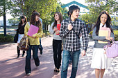 Young Adults on Campus