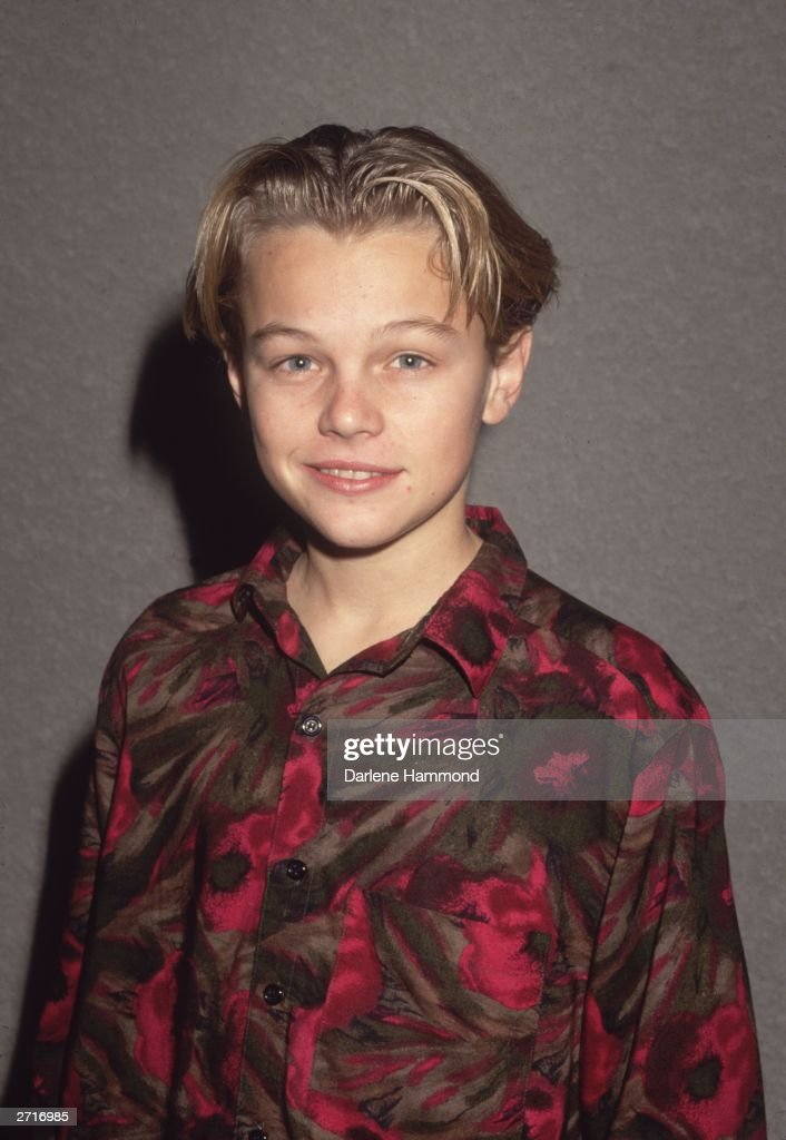 Young American actor <a gi-track='captionPersonalityLinkClicked' href=/galleries/search?phrase=Leonardo+DiCaprio&family=editorial&specificpeople=201635 ng-click='$event.stopPropagation()'>Leonardo DiCaprio</a>.