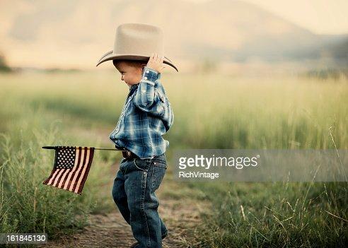 Young American Cowboy