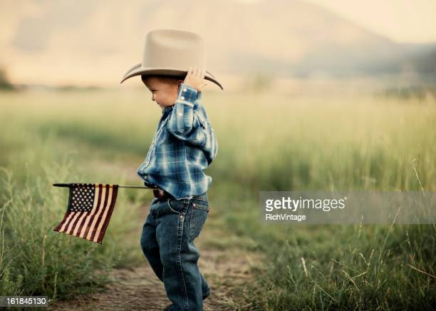 Young American Cowboy