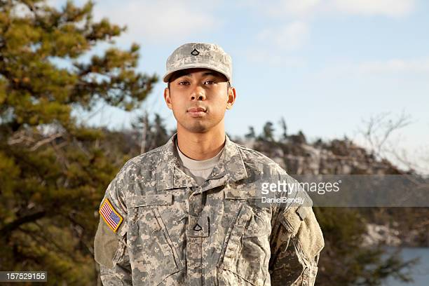 Young American Soldier