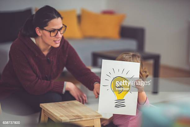 Young and creative business girl