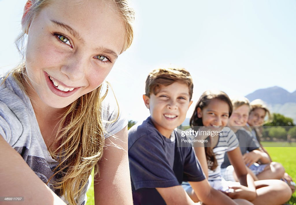Young and full of positivity : Stock Photo