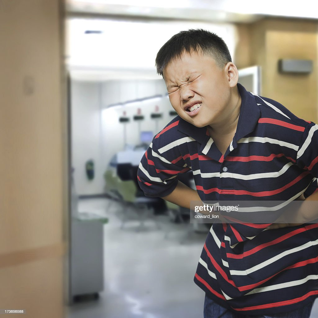 Asian Guy In Pain