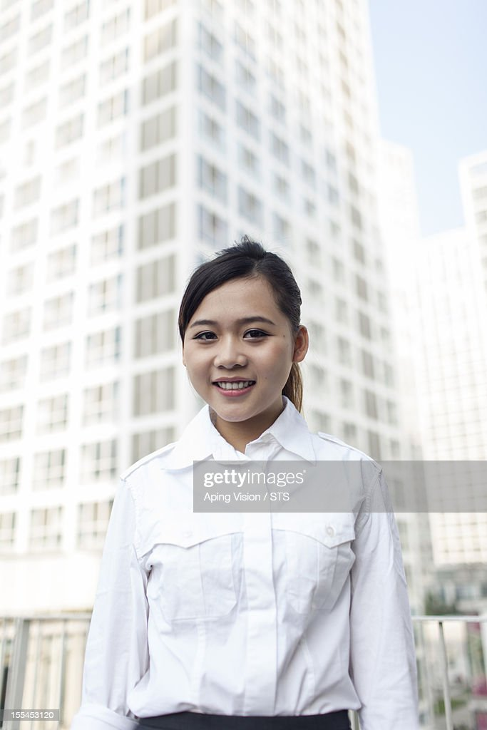 Young Asian businesswoman : Stock Photo