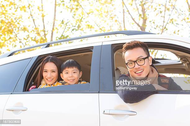 young asian Family Travel