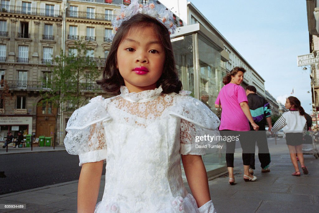 Asian flower girl com