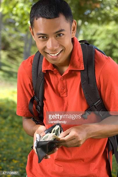 Young Asian man portrait.