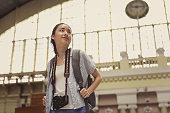 Young Asian Traveler