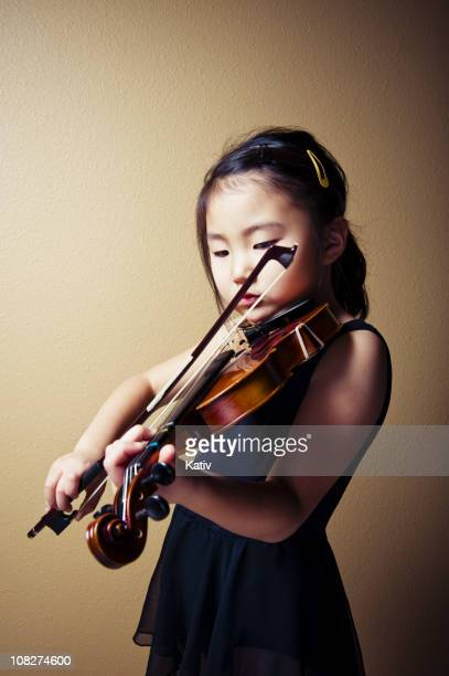 Young Asian Violinist