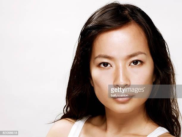 young asian woman, portrait