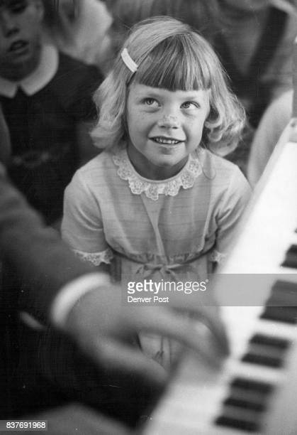 Young Audiences Inc Kindergartener Jane Reusink Listens To Piano Credit Denver Post Inc