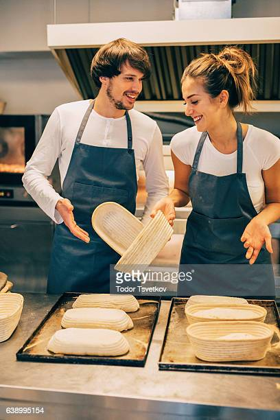 Young bakers running out of dough