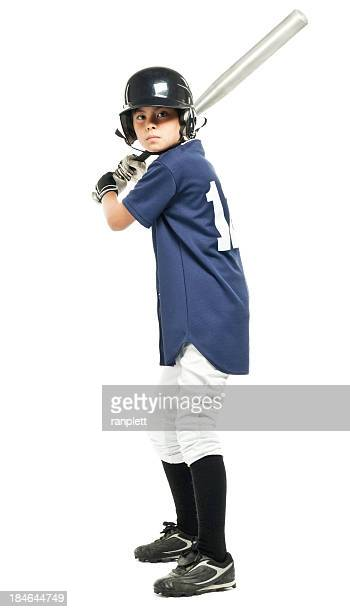 Young Baseball Player - Isolated