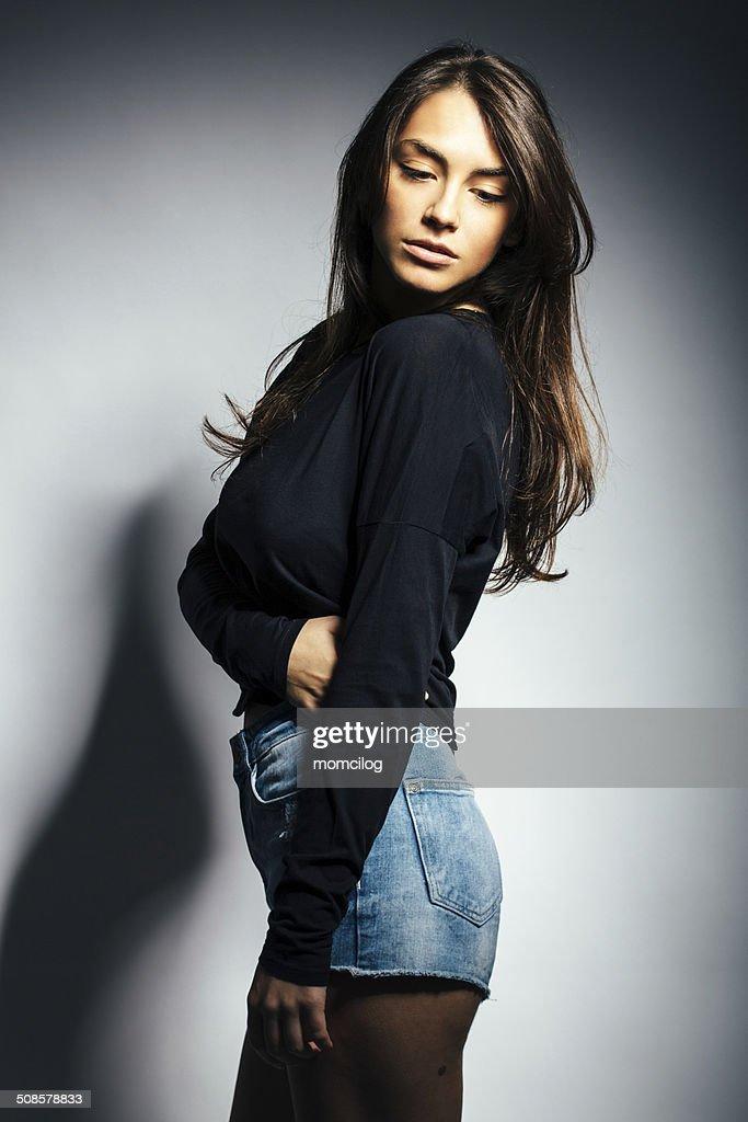Young beautiful female : Stock Photo