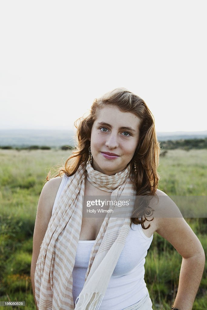 Young beautiful girl in Mexico : Stock Photo