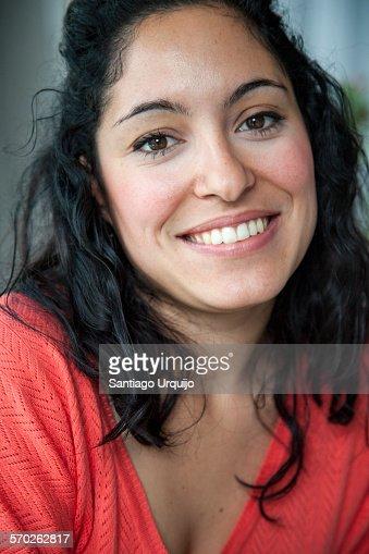 Young beautiful Italian woman