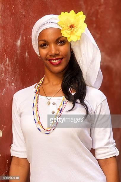 Young, Beautiful Woman, Havana, Cuba