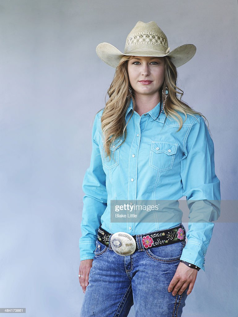 Young Blond Cowgirl