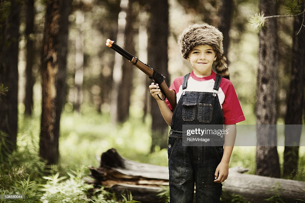 Young Boone : Stock Photo