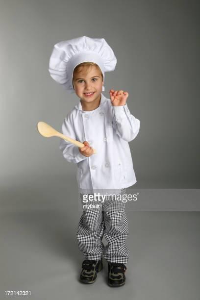Giovane ragazzo chef