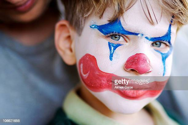 Young Boy Clown