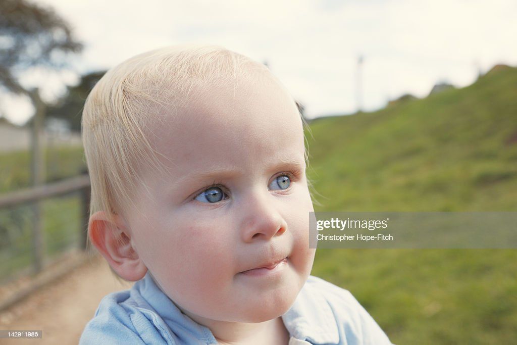 Young boy : Stock Photo
