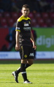 Young Boys midfielder Leonardo Bertone in action during the Swiss Super League football match between Grasshopper Club and BSC Young Boys held at the...