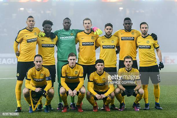 Young Boys' players French forward Guillaume Hoarau Ivorian midfielder Sekou Sanogo Swiss goalkeeper Yvon Mvogo Swedish forward Alexander Gerndt...
