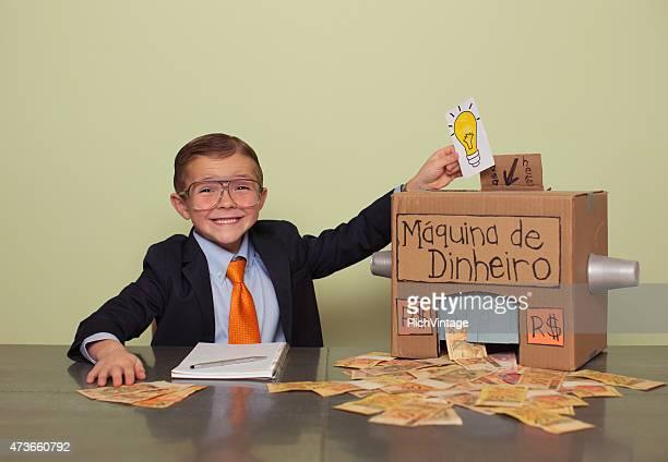 Young Brazilian Boy Makes Big Money