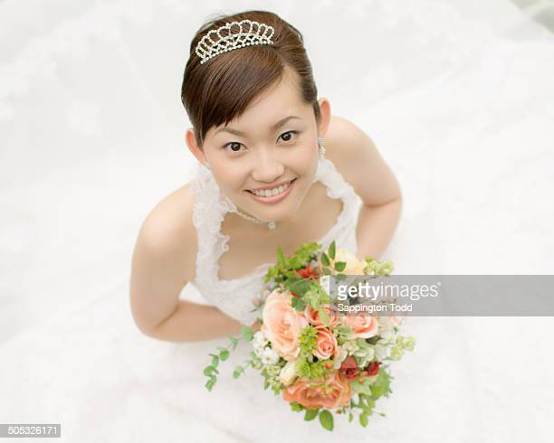 Young Bride Smiling