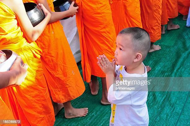 Young buddhism boy