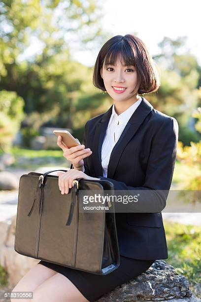young business woman professional white-collar